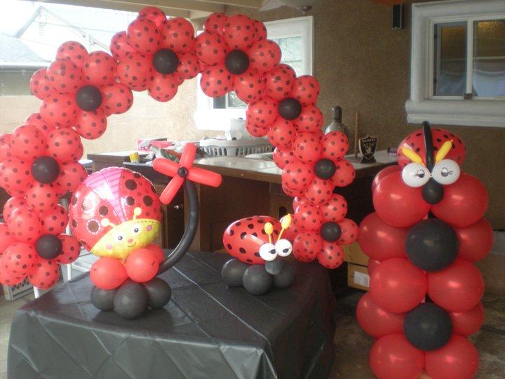 Ladybug Decoration Ideas