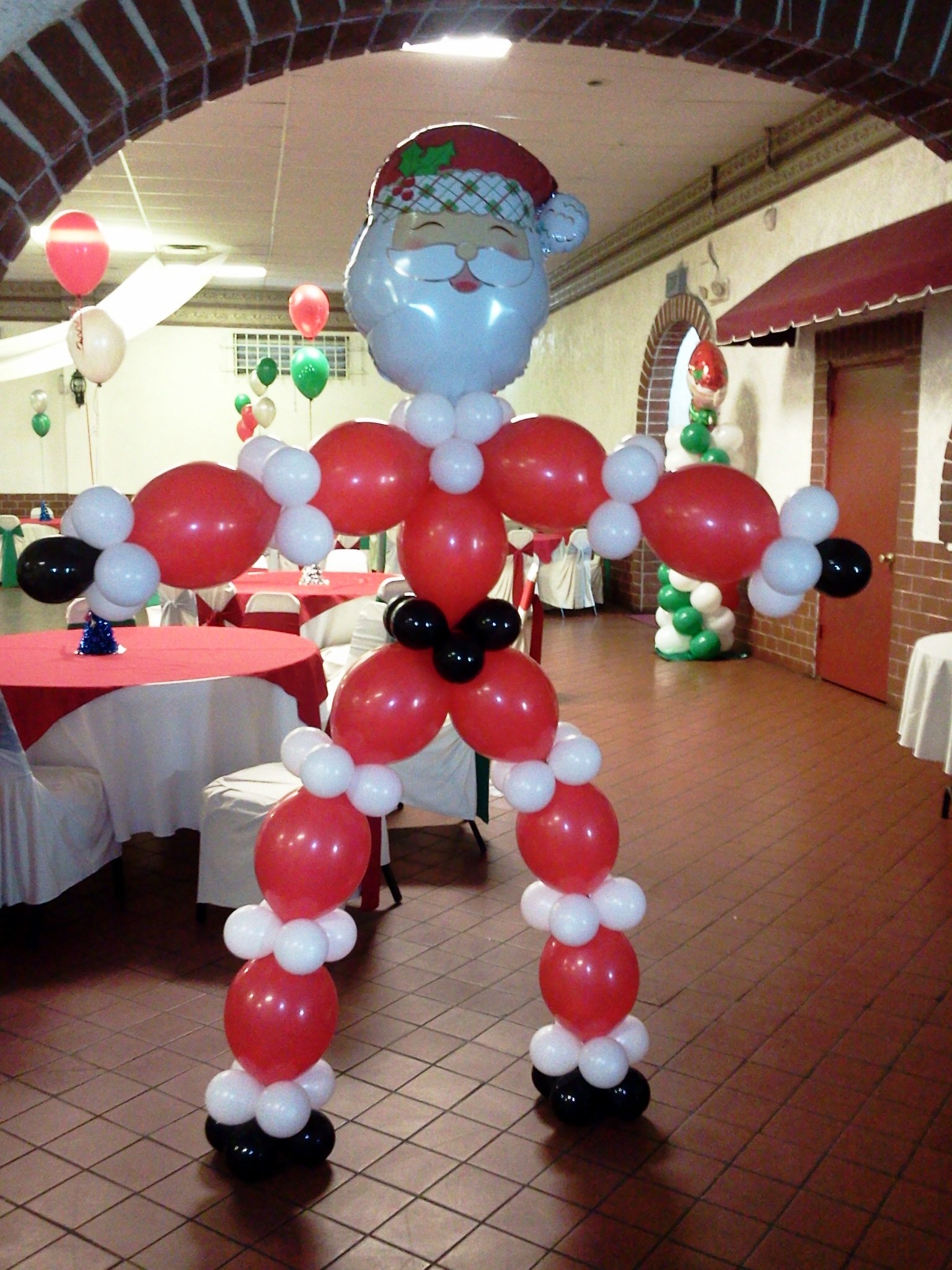 post a comment - Christmas Balloon Decor